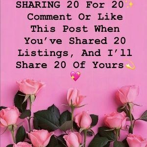 Sharing 20 For 20!